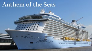 Anthem of the Seas was delivered to Royal Caribbean on April 10, 2015, and christened on April 20, 2015.