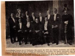 Autoridades vascas 1936