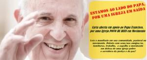 carta brasil con papa