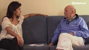 Olga Rodríguez entrevista a Marcos Ana hace un año